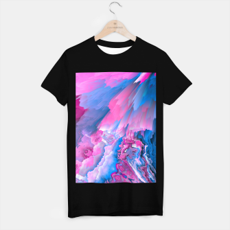Thumbnail image of Dangerous Safety Glitched Fluid Art T-shirt regular, Live Heroes