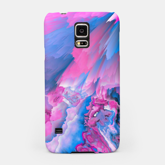 Thumbnail image of Dangerous Safety Glitched Fluid Art Samsung Case, Live Heroes