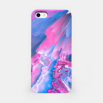 Thumbnail image of Dangerous Safety Glitched Fluid Art iPhone Case, Live Heroes