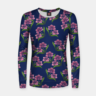 Thumbnail image of Orchids Women sweater, Live Heroes