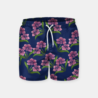 Thumbnail image of Orchids Swim Shorts, Live Heroes