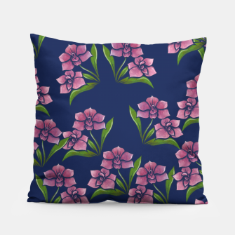 Thumbnail image of Orchids Pillow, Live Heroes