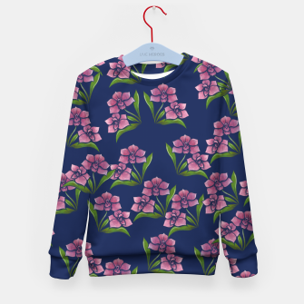 Miniatur Orchids Kid's sweater, Live Heroes