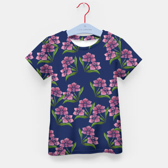 Thumbnail image of Orchids Kid's t-shirt, Live Heroes