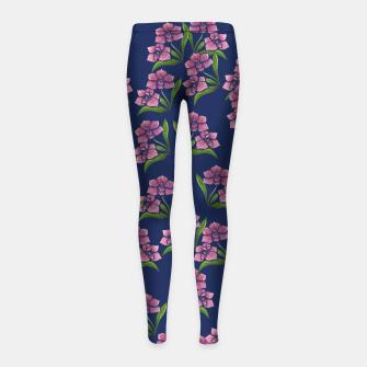Thumbnail image of Orchids Girl's leggings, Live Heroes