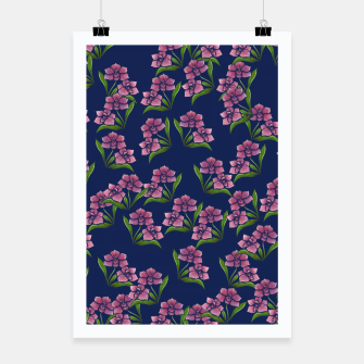 Miniatur Orchids Poster, Live Heroes