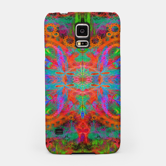 Thumbnail image of Heaven's Tropical Center (symmetrical, psychedelic) Samsung Case, Live Heroes