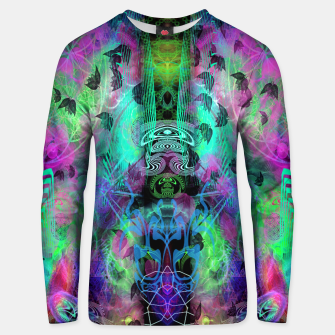Miniaturka Leaves Fall By Moon Glow (abstract, fantasy, psychedelic) Unisex sweater, Live Heroes