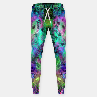 Miniaturka Leaves Fall By Moon Glow (abstract, fantasy, psychedelic) Sweatpants, Live Heroes