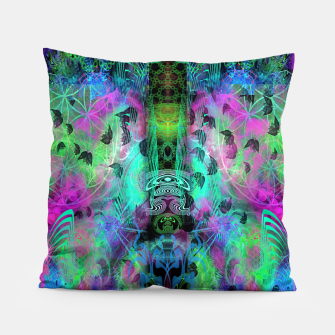 Miniaturka Leaves Fall By Moon Glow (abstract, fantasy, psychedelic) Pillow, Live Heroes
