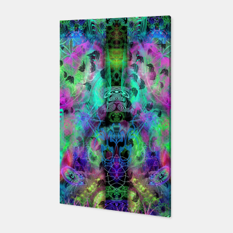 Miniaturka Leaves Fall By Moon Glow (abstract, fantasy, psychedelic) Canvas, Live Heroes