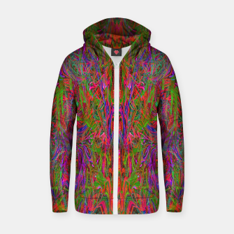 Thumbnail image of Drenched In Juice (slime, psychedelic, abstract) Zip up hoodie, Live Heroes