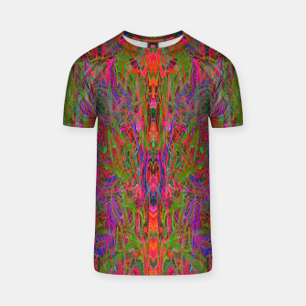 Thumbnail image of Drenched In Juice (slime, psychedelic, abstract) T-shirt, Live Heroes