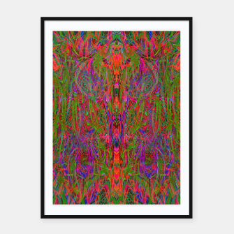 Thumbnail image of Drenched In Juice (slime, psychedelic, abstract) Framed poster, Live Heroes