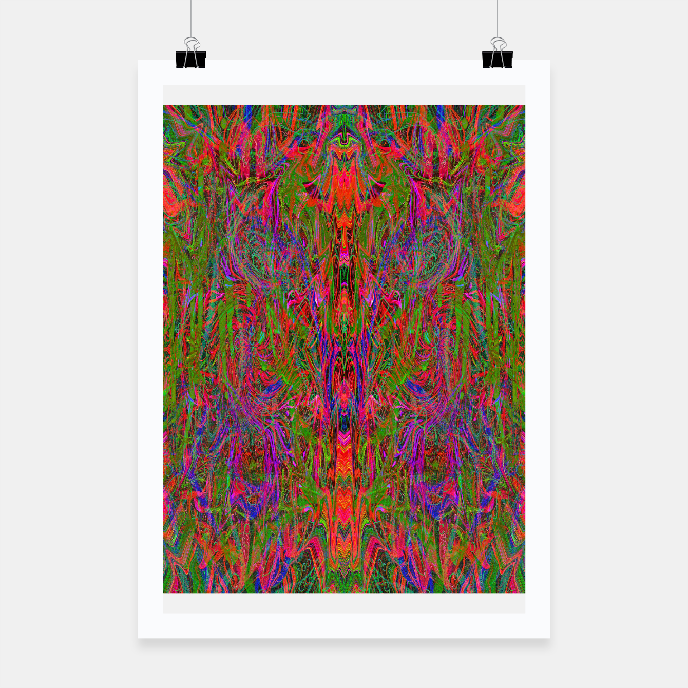 Image of Drenched In Juice (slime, psychedelic, abstract) Poster - Live Heroes