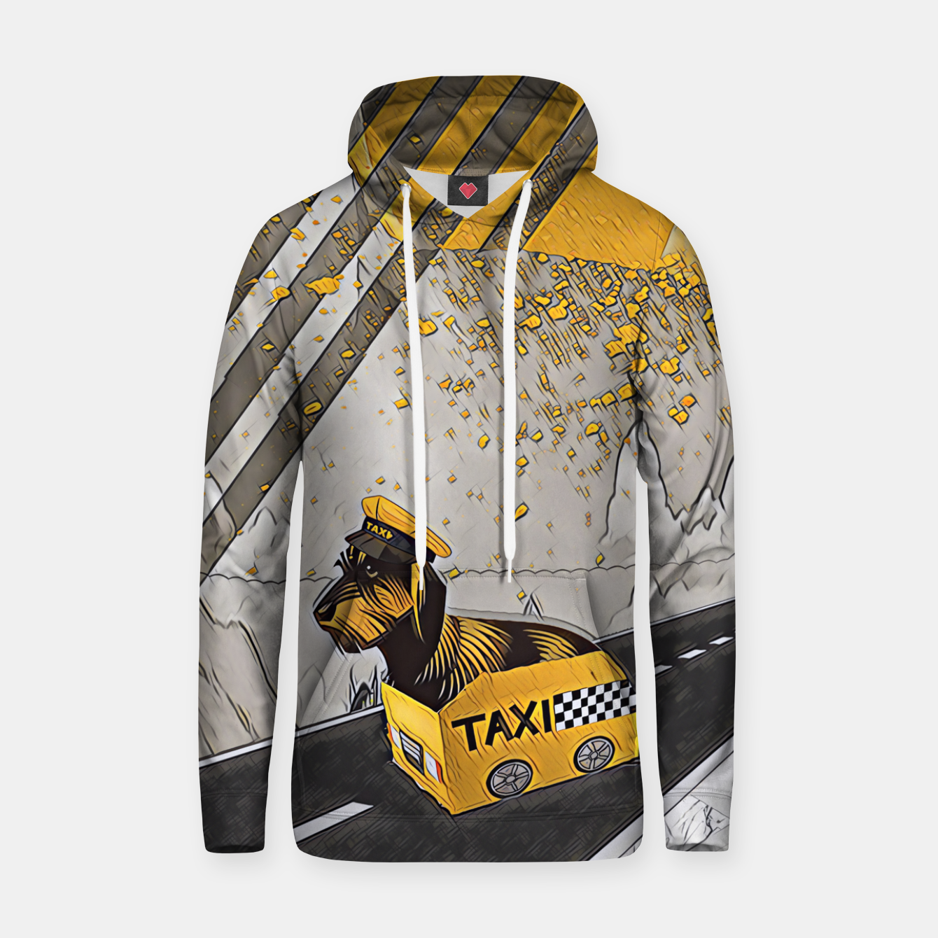 Image of Yellow taxi Hoodie - Live Heroes