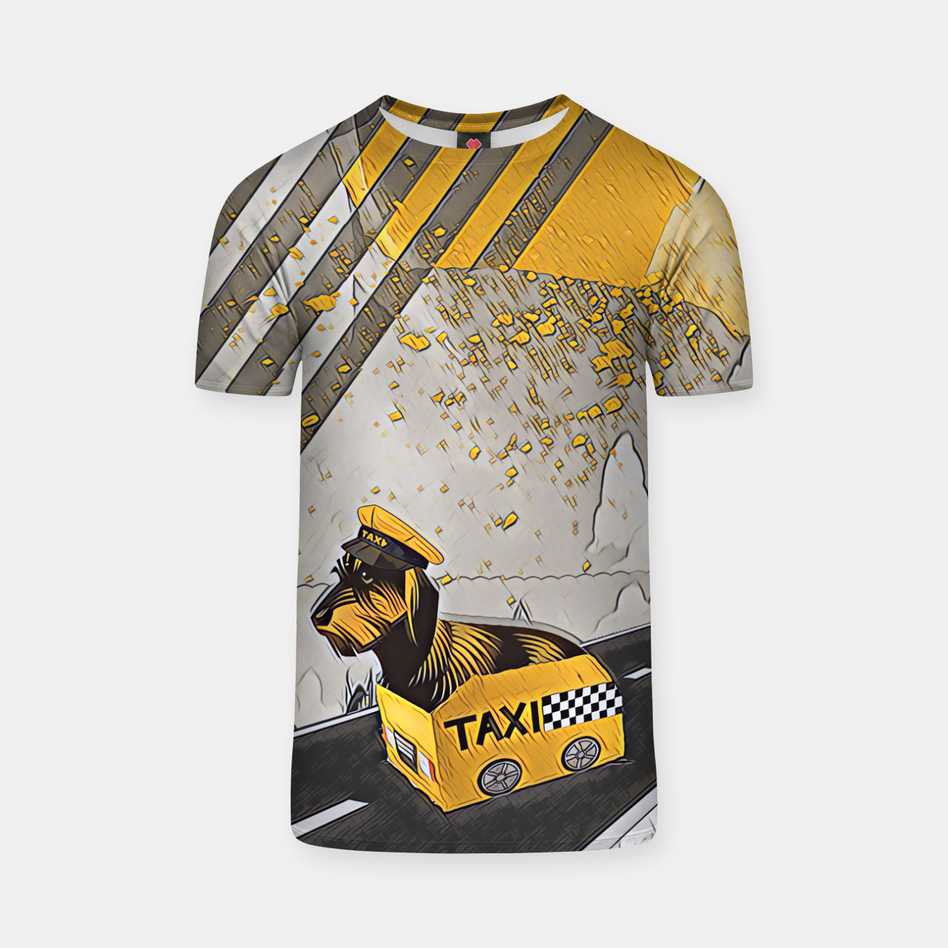 Image of Yellow taxi T-shirt - Live Heroes
