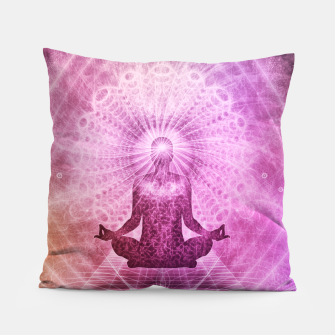 Miniatur Meditation Pillow, Live Heroes