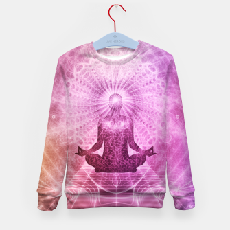 Miniatur Meditation Kid's sweater, Live Heroes