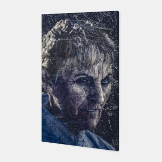 Thumbnail image of Senior Zombie Portrait - Photo Manipulation Art Canvas, Live Heroes