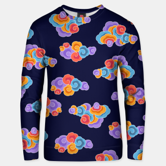 Classical cloud ornamentation Unisex sweater thumbnail image