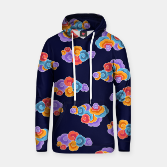 Classical cloud ornamentation Hoodie thumbnail image