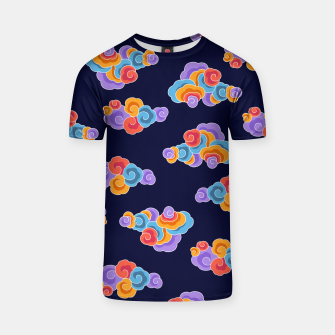 Classical cloud ornamentation T-shirt thumbnail image