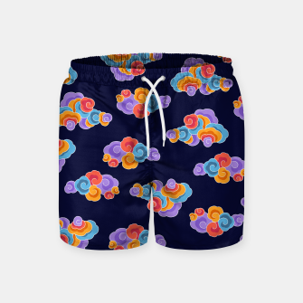 Classical cloud ornamentation Swim Shorts thumbnail image