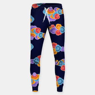 Classical cloud ornamentation Sweatpants thumbnail image