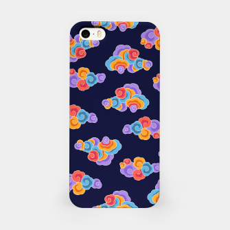 Classical cloud ornamentation iPhone Case thumbnail image