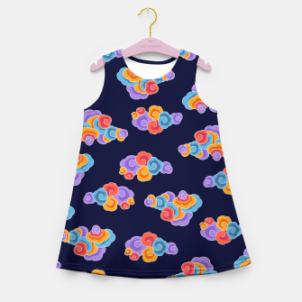 Classical cloud ornamentation Girl's summer dress thumbnail image