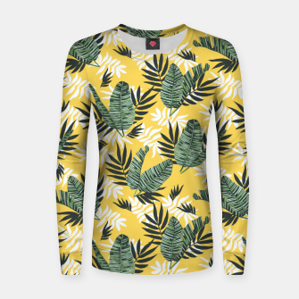 Hot tropical summer Sudadera para mujeres miniature