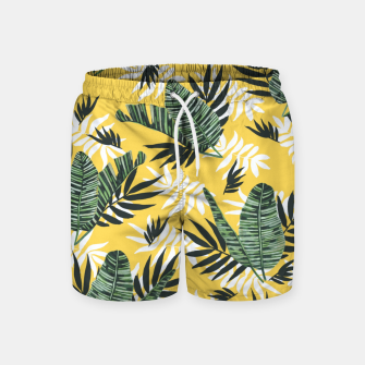 Hot tropical summer Pantalones de baño miniature