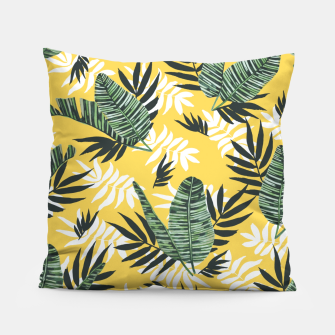 Hot tropical summer Almohada miniature