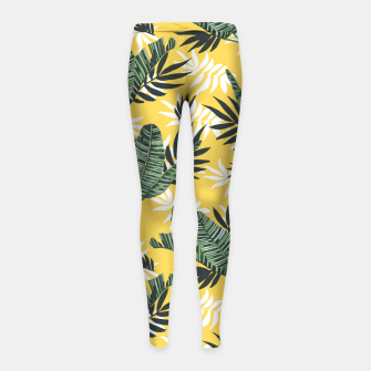 Miniature de image de Hot tropical summer Leggings para niña, Live Heroes