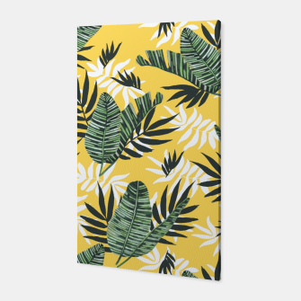 Hot tropical summer Canvas miniature
