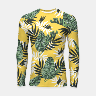 Hot tropical summer Longsleeve rashguard miniature