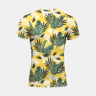 Hot tropical summer Shortsleeve rashguard miniature