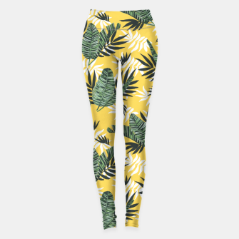 Hot tropical summer Leggings miniature