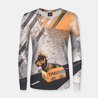 Yellow taxi Women sweater thumbnail image