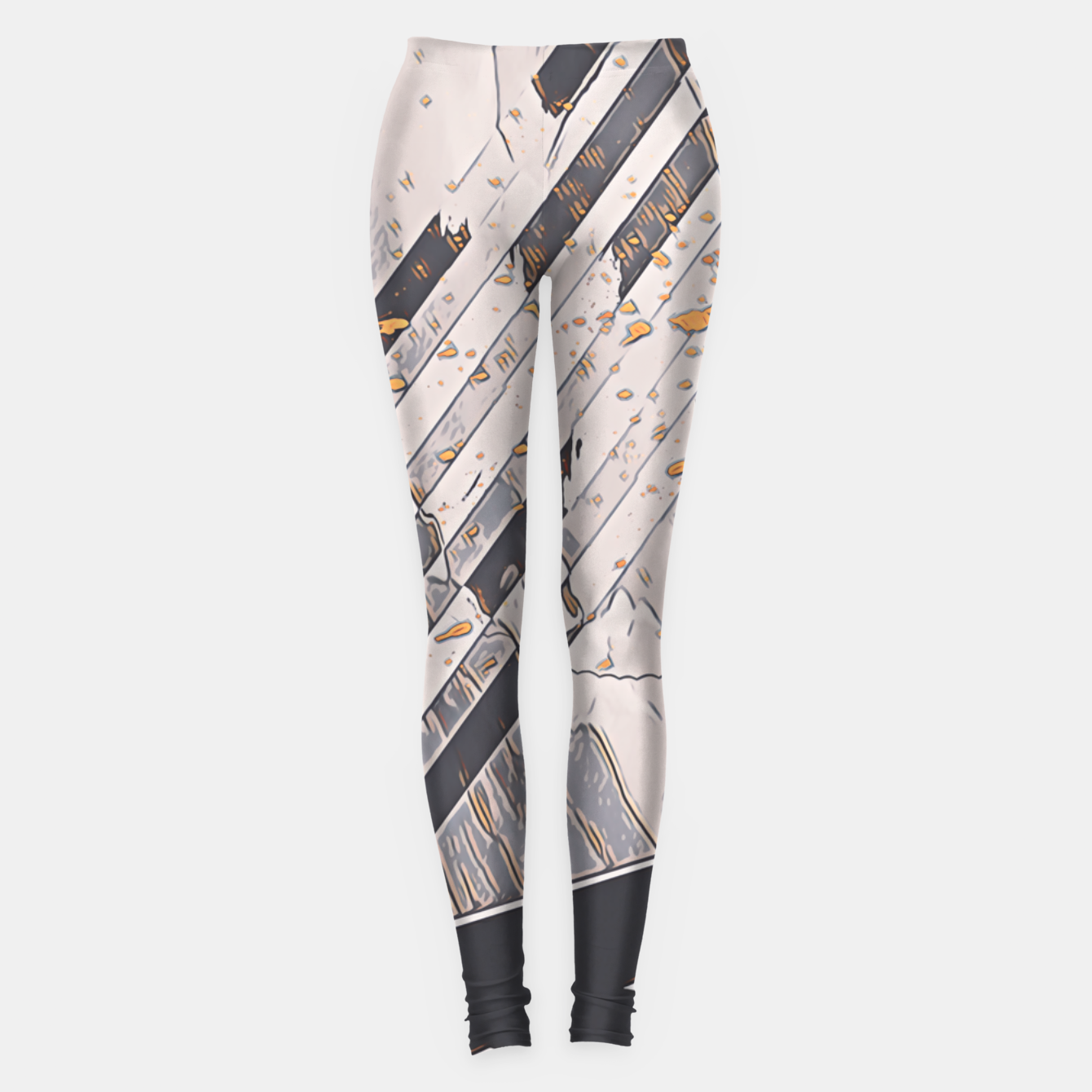 Image of Yellow taxi Leggings - Live Heroes