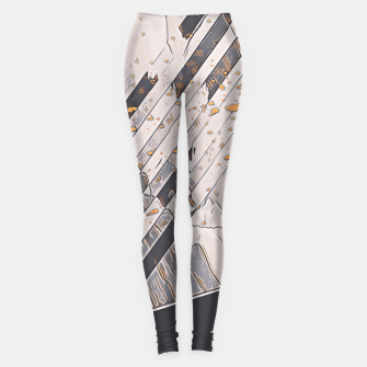 Miniatur Yellow taxi Leggings, Live Heroes