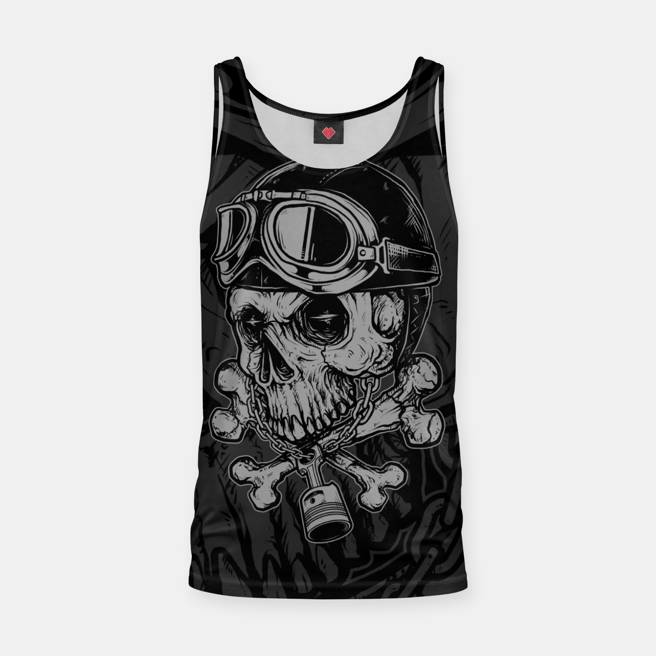 Foto Dead Rider Tank Top - Live Heroes