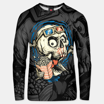 Thumbnail image of Skull Movie Unisex sweater, Live Heroes