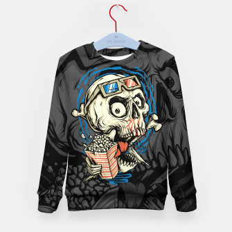 Thumbnail image of Skull Movie Kid's sweater, Live Heroes
