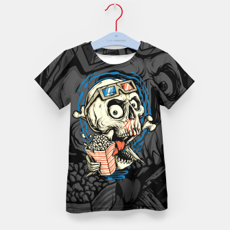 Thumbnail image of Skull Movie Kid's t-shirt, Live Heroes
