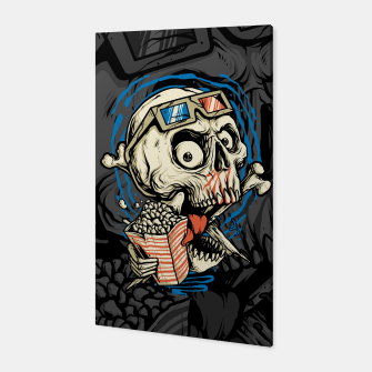 Thumbnail image of Skull Movie Canvas, Live Heroes