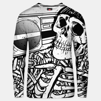 Thumbnail image of Boombox Skull Unisex sweater, Live Heroes