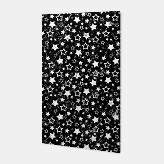 Thumbnail image of Dark Star Pattern Vintage Style Canvas, Live Heroes