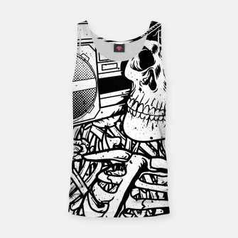Thumbnail image of Boombox Skull Tank Top, Live Heroes